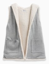 Splendid Girl Hooded Sherpa Vest