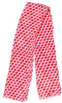 Tory Burch Printed Woven Scarf w/ Tags