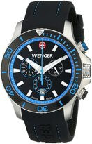 Wenger Men's 0643.103 Analog Display Swiss Quartz Watch