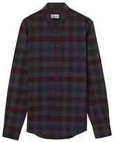 Jigsaw Oversize Cotton Shirt, Multi