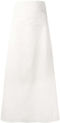 Yohji Yamamoto Pre Owned Long Wrap Skirt