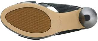 Clarks Dalia Lotus Heeled Sandals - Black