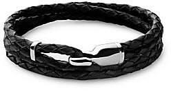 Miansai Men's Trice Leather Bracelet