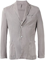 Cruciani fitted blazer - men - Cotton - 48