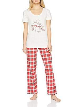 Boux Avenue Women's Reindeer Family Bundle Pyjama Sets,6 (Size: 6)