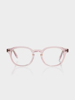 Quay Walk on Blue Light Glasses in Pink