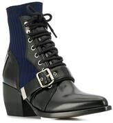 Chloé rylee sock ankle boots black