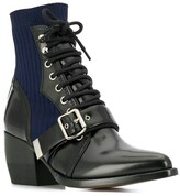 Chloé rylee sock ankle boots black