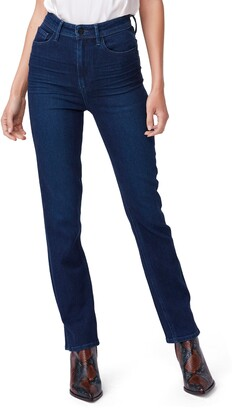 Paige Cindy Ultra High Waist Ankle Straight Jeans