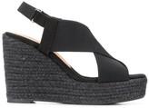 Castaner high wedge sandals