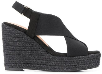 Castaner high wedge sandals