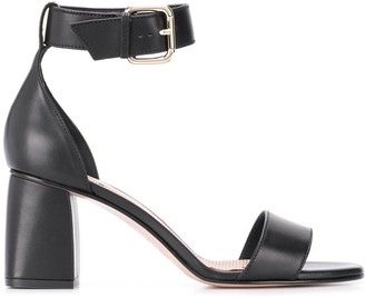 RED Valentino Strappy Buckled Sandals