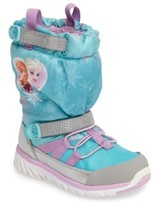 Stride Rite Girl's Disney Frozen Made2Play Sneaker Boot