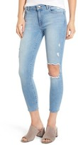 DL1961 Women's Florence Instasculpt Ripped Crop Skinny Jeans