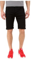 G Star G-Star 3301 Deconstructed Shorts in Cilex Black Superstretch Rinsed