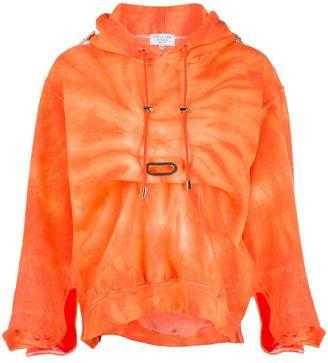 Collina Strada gathered hoodie