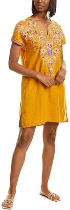 Johnny Was Linen Mini Dress