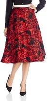 Tracy Reese Women's Side Zip Skirt