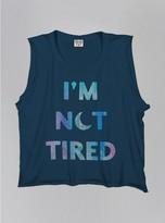 Junk Food Clothing Kids Girls I'm Not Tired Tank-nwny-m