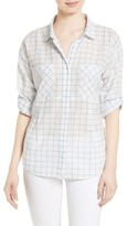 Soft Joie Women's Adabelle Check Cotton Shirt