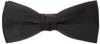 Saint Laurent Grosgrain-silk Bow Tie - Mens - Black