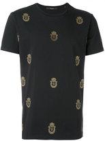 Billionaire allover logo T-shirt