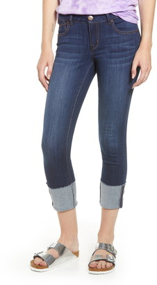 1822 Denim Deep Cuff Crop Jeggings