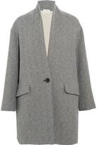 Etoile Isabel Marant Edilon Woven Coat - Gray