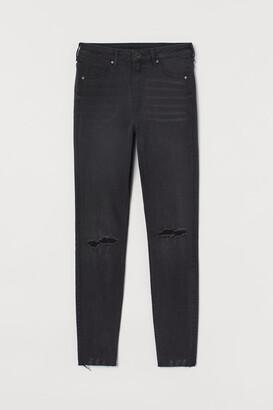 H&M Curvy High Jeggings - Black
