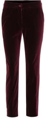 Etro Slim velvet pants