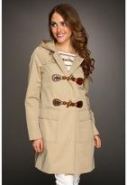 MICHAEL Michael Kors Toggle Duffle Coat (Khaki) - Apparel