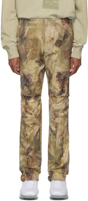 Alyx Green Camo Gaiter Trousers