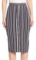 Altuzarra Printed Knee Length Skirt