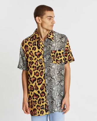 Locale Oversized Contrast SS Shirt