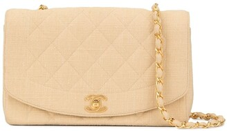 Chanel Pre Owned 1992 Diana quilted shoulder bag