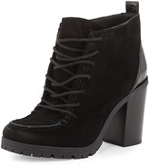 CIRCUS BY SAM EDELMAN Denver Lace-Up Suede Chukka Bootie, Black