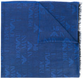 Emporio Armani frayed scarf - men - Modal/Viscose - One Size