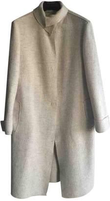 Philosophy di Alberta Ferretti Ecru Wool Coats