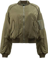 Juun.J zip up bomber jacket