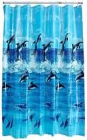 Aqualona Dolphin Shower Curtain