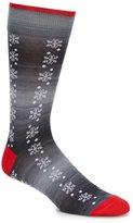 Daniel Cremieux New Snowflake Crew Dress Socks