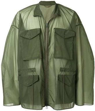 Oamc Oversized Military Jacket