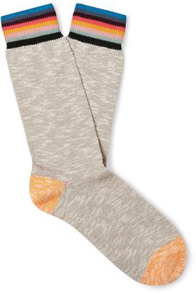 Paul Smith Naveen Striped Cotton-Blend Socks
