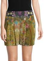 Robert Graham Erika Printed Silk Shorts