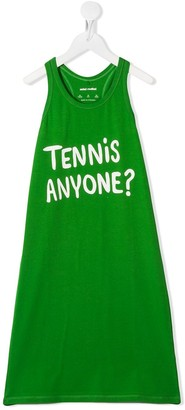 Mini Rodini Tennis Anyone printed tank dress