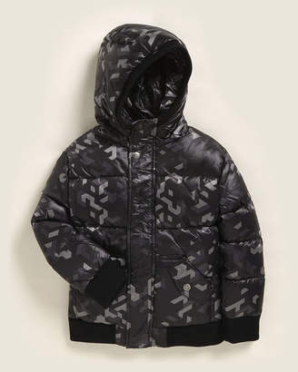 Appaman Newborn/Infant Boys) Hooded Down Puffer Coat