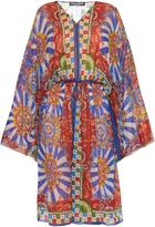 Dolce & Gabbana Carretto-print silk kaftan