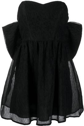 P.A.R.O.S.H. Oversized Bow Mini Dress