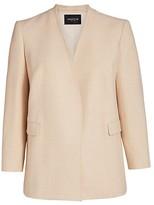 Thumbnail for your product : Lafayette 148 New York, Plus Size Erickson Open-Front Blazer