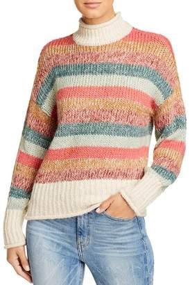 Vero Moda Rufaro Striped Turtleneck Sweater